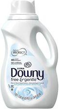 Downy Ultra Fabric Softener, Free - Gentle 34 oz