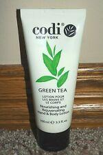 Codi Green Tea Hand & Body Lotion Nourishing & Rejuvenating 3.3Oz New Sealed