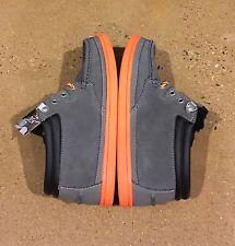 DVS Hunt Grey Suede Snow Size 6.5 Boat Deck BMX Skate Shoes $78 Box Price