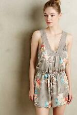 Anthropologie Lela Lace Romper Floral Sz S Size 4 6 Small NIP By Eloise NWT