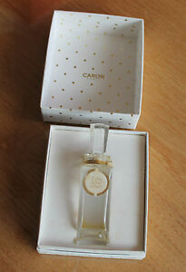 Ancien parfum  tabac blond extrait caron paris  dans sa boite