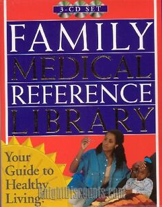 FAMILY MEDICAL REFERENCE LIBRARY 3x CDRom Set NEW BOX!!