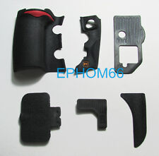 6 Pieces A Set New Nikon D700 Grip Rubber Unit Hand Rear Left USB Rubber + Tape
