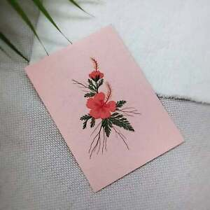 New year card 2020 handmade with love