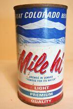 New listing Mile hi Beer 12 oz 1959 flat top - Tivoli Brewing Co., Denver, Colorado