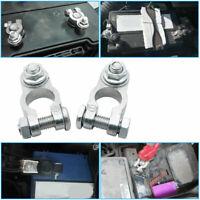 Morsetti Per Batteria Auto Positivo Negativo 6-24V M8 Elettrico Connettori Zinco