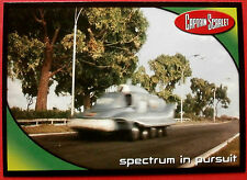 CAPTAIN SCARLET - Card #8 - Spectrum in Pursuit - Cards Inc. 2001