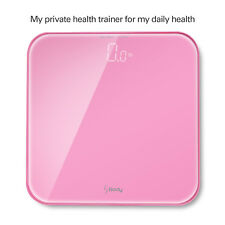Ultra Wide Digital Personal Scale up to 396lb/180kg, Large Led Display, Pink