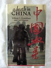 A Death In China by William D. Montalbano and Carl Hiaasen | HC/DJ 1985