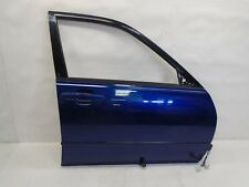 DK805128 01-05 LEXUS IS300 FRONT PASS RIGHT SIDE DOOR SHELL W/ HANDLE BLUE OEM