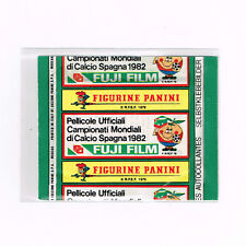 PANINI WC ESPANA 82 | sealed Italian promo FUJI FILM packet WORLD CUP 1982 SPAIN