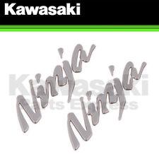 NEW 2012 - 2018 GENUINE KAWASAKI NINJA ZX-14R 'NINJA' SIDE COWLING DECAL 2 PACK!