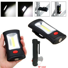 COB LED Work Light Hanging Camping Lamp Flashlight Torch w/ Magnetic Hook 2 Mode