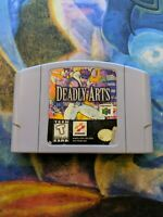 Deadly Arts (Authentic) (N64) Contacts Cleaned!!!