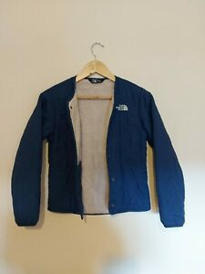 The North Face Blue Insulated Jacket Aged 10-12 Years