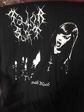 Taylor SWIFT Black Metal T Shirt Gilda XL
