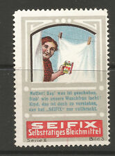 SEIFIX advertising stamp/label (German text)