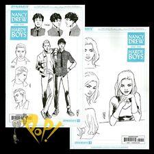 NANCY DREW & the HARDY BOYS #1 Design VARIANT Set Cover D&E Dynamite Comics NM-
