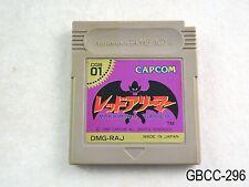 Red Arremer Game Boy GB Japanese Import Japan Gargoyle's Quest 1 US Seller C