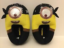 Despicable ME Minions Kids 2/3  PIRATE  House Slippers New