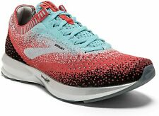 Brooks Womens Levitate 2 Running Shoes, Coral/Blue/Black