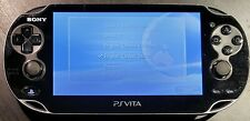 Sony PlayStation PS Vita PCH-1001 512MB Wi-Fi Console - Black CLEANED & TESTED