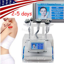 USA 5 in 1 Cavitation Vacuum Bipolar RF Laser Fat Removal body Slimming Machine