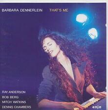 BARBARA DENNERLEIN  CD THAT'S ME