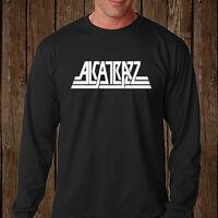 New Alcatrazz Metal Rock Band Band Legend Long Sleeve Black T-Shirt Size S-3XL