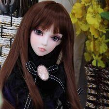 DL BJD Ruoyi DollLove 1/3 Girl Female SD super dollfie Free Face-up eyes fur wig