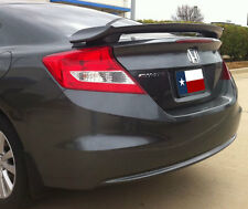 Fits: Honda Civic Coupe 2012-2015 Painted Custom Rear Spoiler  Made in the USA