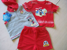 ENSEMBLE 3 PIECES MICKEY DISNEY 3/6 MOIS A NE PAS RATER