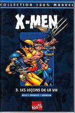 MARVEL 100%  : X MEN  N° 3  LES LECONS DE LA VIE    PANINI  COMICS