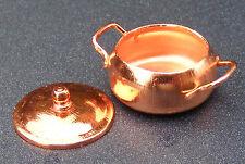 1:12 Scale Small Empty Metal Casserole Pot Tumdee Dolls House Miniature Food 736