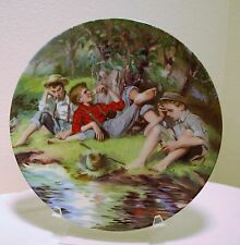 Collector Plate Knowles 1988 William Chambers Tom Sawyer First Pipes with COA