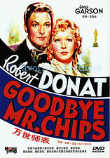 Goodbye, Mr. Chips (1939) - Robert Donat, Greer Garson - DVD NEW
