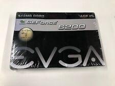EVGA Nvidia GeForce 6200 512MB DDR2, AGP 8X Graphics Card (512-A8-N403-LR)