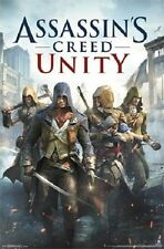 ASSASSIN'S CREED UNITY Poster - Video Game Cover Art Full Size Print