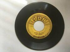 CARL PERKINS 45 rpm 1956 SUN Records 243 BOPPIN' THE BLUES / All Mama's Children