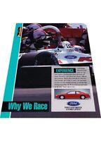 1993 Ford Thunderbird SC  - Vintage Advertisement Car Print Ad J407