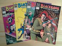 Blackhawk DC comic lot of 4 issues VF/NM Spielberg to direct movie