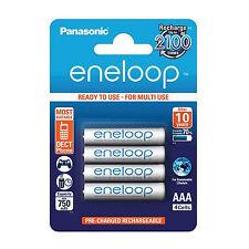 Panasonic Eneloop AAA set 4er blister baterías hr03 1,2v NiMH BK -4 mcce/4be