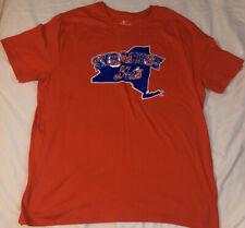 Syracuse Mets Baseball Nike Orange T-Shirt- Size XXL NEW NO TAGS