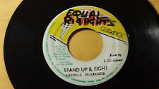 "FREDDIE McGREGOR - STAND UP & FIGHT  ROOTS /REGGAE 7"" JAH GUIDANCE LABEL"