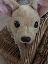 Cute, Adorable Fuzzy Nation 'Love on a leash' Chihuahua Puppy-dog Purse Handbag