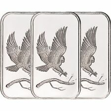 SilverTowne Trademark Eagle 1oz .999 Silver Bar (3pc)