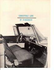 1960 STUDEBAKER LARK 260/195 HP ~ ORIGINAL 3-PAGE ROAD TEST / ARTICLE / AD