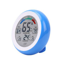 NEW Digital Thermometer Touch Screen Hygrometer Temperature Humidity Meter Gauge