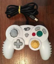 Madcatz White Wired Controller - Compatible With Nintendo Gamecube