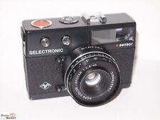 Agfa Selectronic Sensor Kleinbild-Kamera Objektiv Apotar 2,8/45 lens (Germany)
